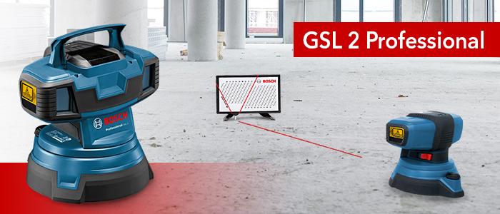laser de sol Bosch GSL 2