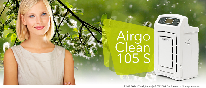 épurateurs d'air trotec airgoclean filtrent pollens et poussières avec leur filtre hepa