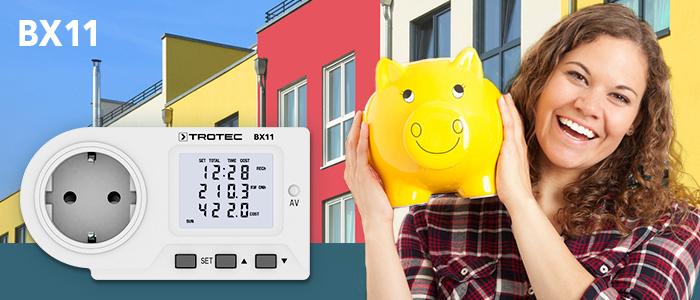 un wattmètre permet de repérer les gros consommateurs d'électricité