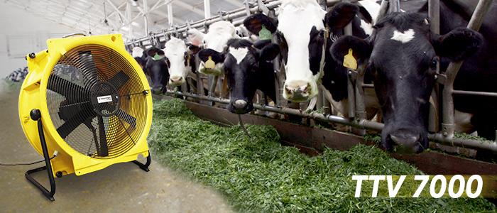 ventilateurs pour élevage