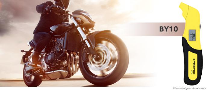 BY10 testeur de pression des pneus pour moto