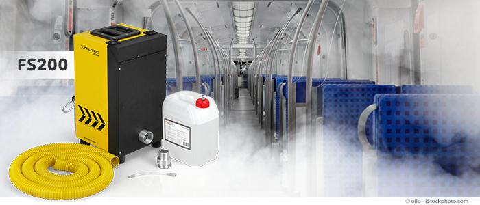générateur de fumée pour simulations incendie