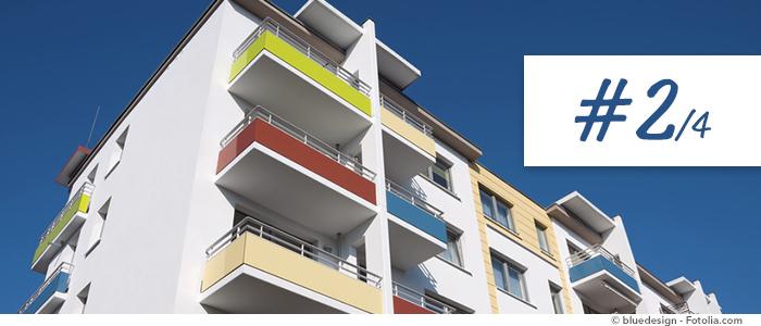 testeur d'épaisseur du revêtement pour vérifier balcons ou rampes en extérieur