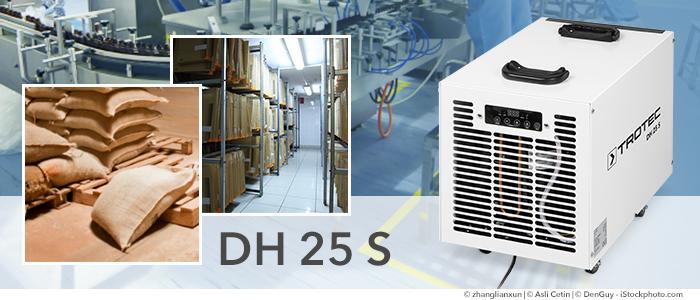 déshumidificateur d'air industriel trotec dh 25 s