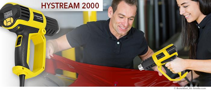 pistolet à air chaud hystream 2000