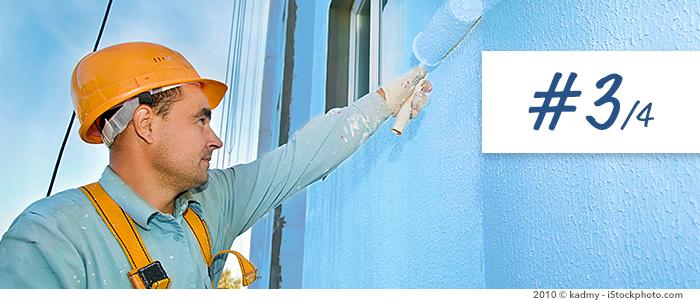 Indicateur d'humidité Trotec BM31 pour la rénovation de façade