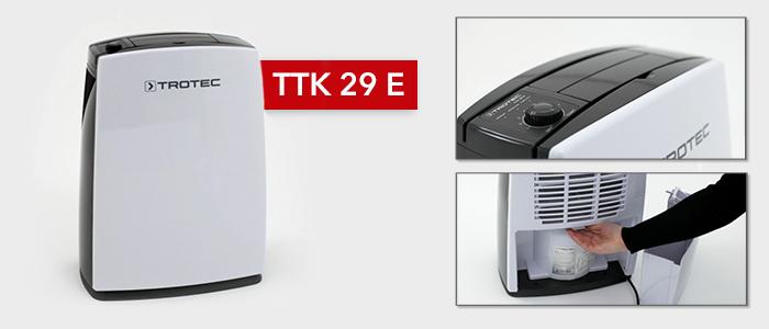 Déshumidificateur TTK 29 E à 99,95 € sur Trotec24 (hors frais de port)