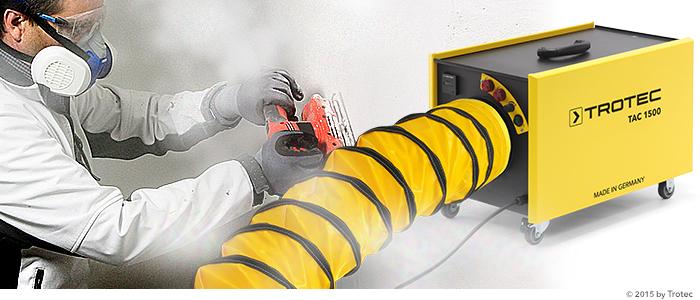 purificateurs d'air de chantier série TAC