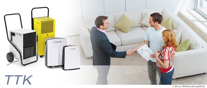 déshumidifiez les quatre murs de vos clients pour plus de satisfaction