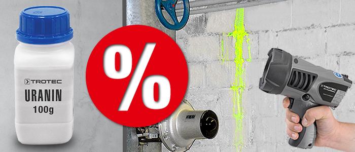 fluorescéine en poudre et fluorescéine liquide en promotion