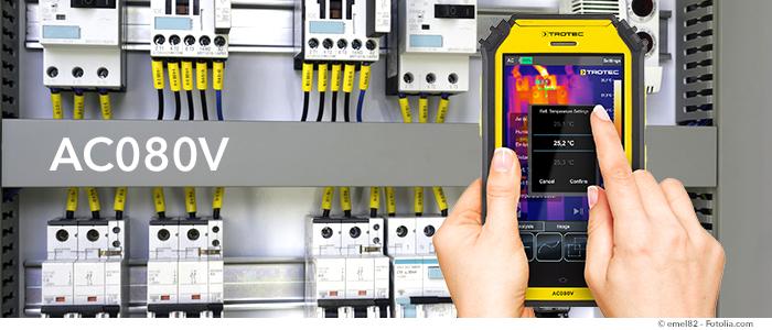 tablette thermique pour thermographie électrique