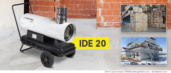 canon à air chaud au fioul 20 kW ide 20