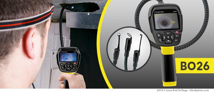 Vidéo-endoscope bo26 pour automobiles, ornithologues, prospecteurs