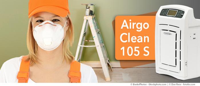 rénover avec un épurateur d'air lorsqu'on est allergique