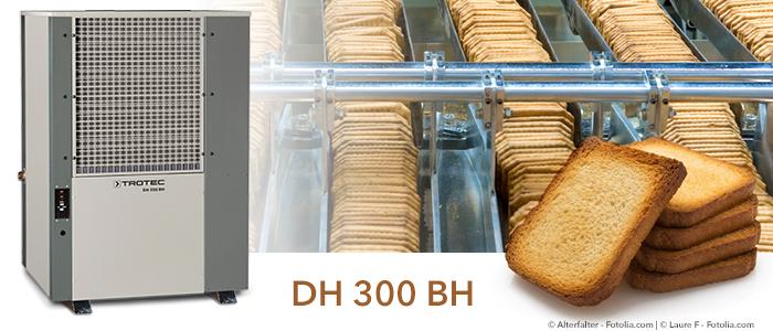 déshumidificateurs trotec pour boulangeries industrielles