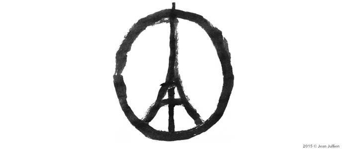 Paris, le monde en deuil