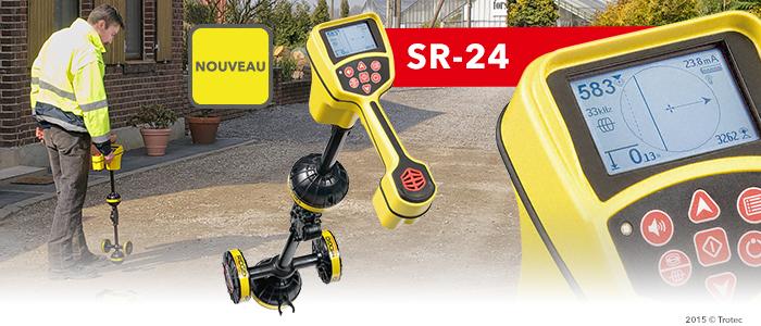 détecteur de conduites SeekTech SR-24