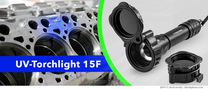 lampe uv torchlight 15f avec filtre pour recherche de fuite, contrôles industriels