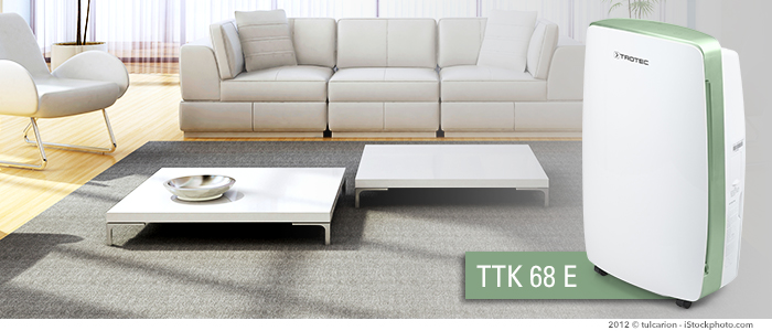 ttk 68 e | un déshumidificateur efficace et discret
