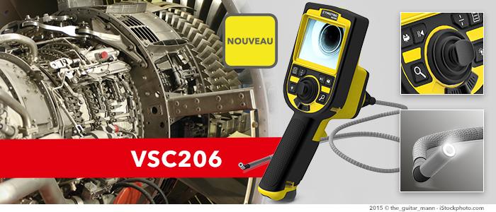 endoscope vidéo sans fil vsc206 chez trotec