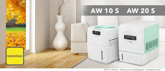 un laveur d'air améliore nettement la qualité de l'air intérieur