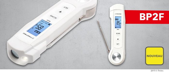 Thermomètre alimentaire infrarouge à sonde BP2F