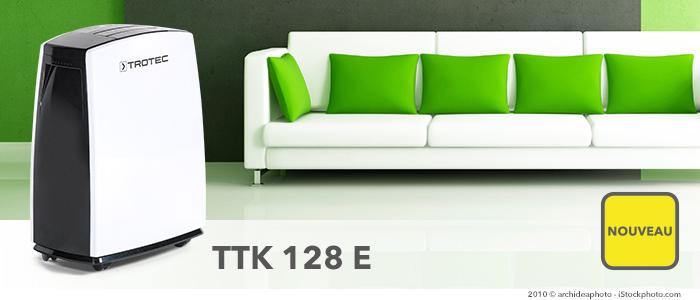 déshumidificateur ttk 128 e pour grandes pièces ou bureaux