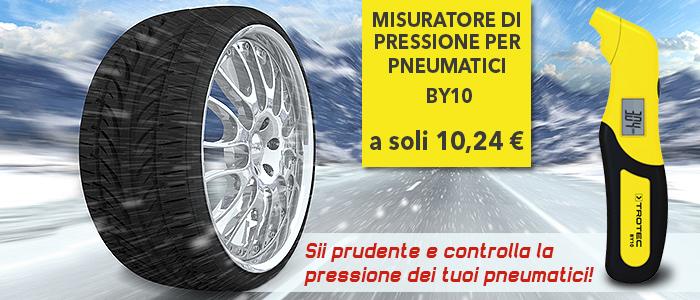 Misuratore di pressione per pneumatici BY10
