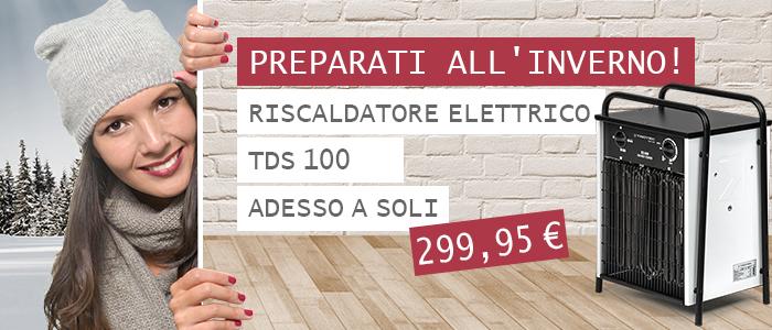 Riscaldatore elettrico TDS 100