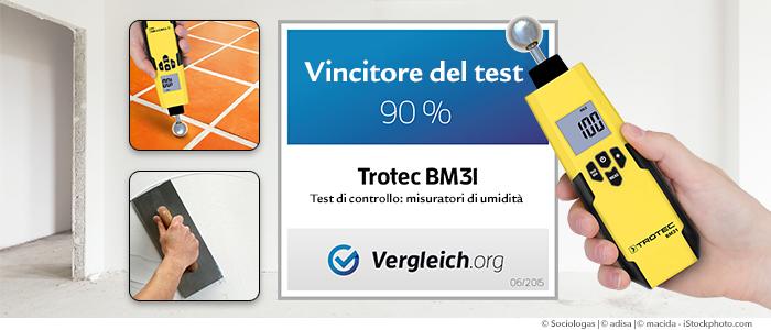 BM31 Vincitore del test su Vergleich.org