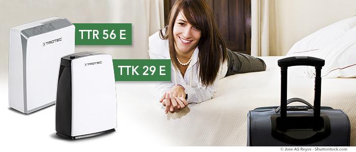 Deumidificatori TTK E/S per b&b, hotel e pensioni