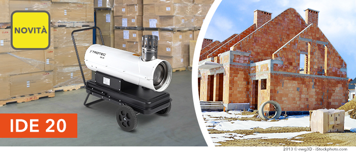 Generatore d'aria calda IDE 20
