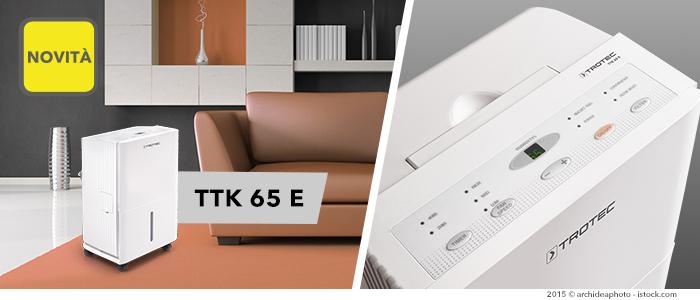 Deumidificatore TTK 65 E in pronta consegna