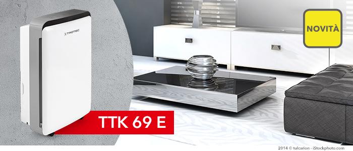 Deumidificatore TTK 69 E in pronta consegna