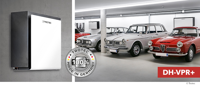 trotec trasforma i garage di grandi dimensioni in ambienti