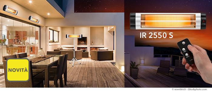 Stufetta a raggi infrarossi IR 2550 S