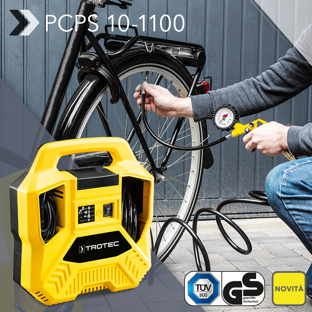 Automotive Tools & Supplies Pistola Compressore Per Gonfiaggio Gomme E Pneumatici Di Auto E Bicicletta Air Compressors & Blowers