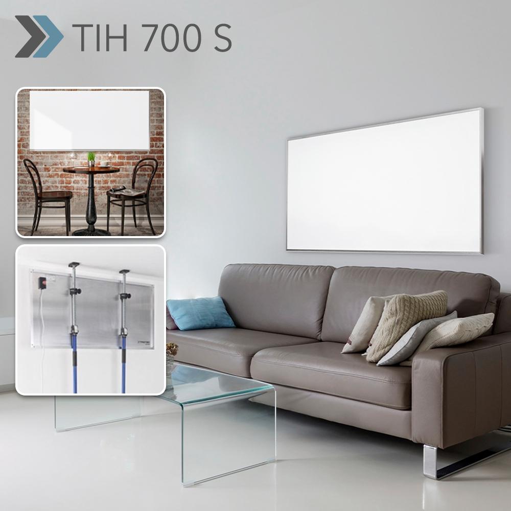 Pannelli Radianti Al Posto Dei Termosifoni pannello radiante a infrarossi tih 700 s per impiego in