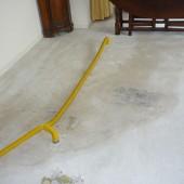 Aansluitingen in vloer