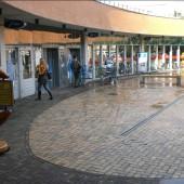 Lekkage winkelcentrum