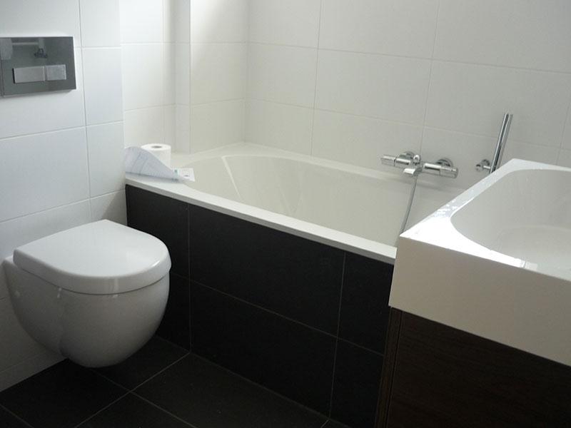 glasvlies behang badkamer – devolonter, Badkamer