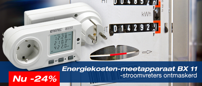 Energiekosten meetapparaat BX11 helpt u bij te hoog stoomverbruik