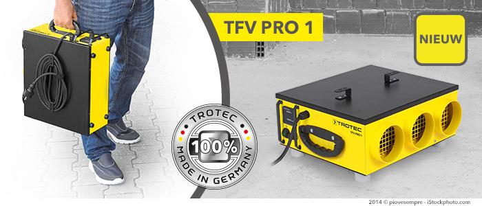 radiale ventilator TFV Pro 1