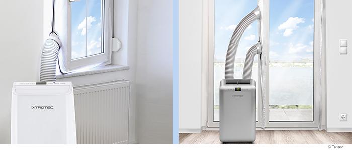 mobiele airco s zonder slang geen afkoeling. Black Bedroom Furniture Sets. Home Design Ideas