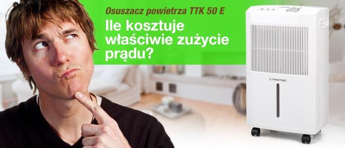TTK 50 E, miernik zużycia energii