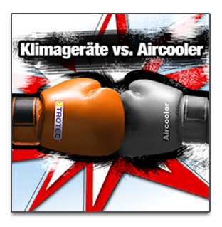 Klimageräte vs. Aircooler