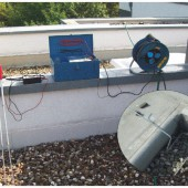 flachdach leckortung impulsstrom-verfahren