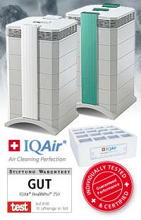 IQAir Luftreiniger Schutzpakete