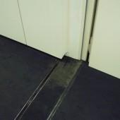 Schadensbild im Gebäude