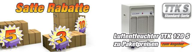 Luftentfeuchter TTK 120 S Paketpreise